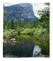 Mirror Lake Fleece Blanket