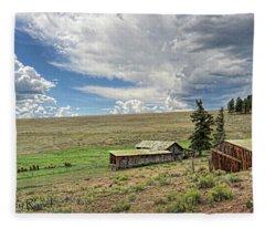 Moreno Valley Ranch Fleece Blanket