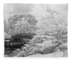 Morikami Japanese Gardens Fleece Blanket