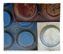 Muffin Tins Fleece Blanket