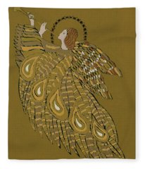 Musical Angel Fleece Blanket