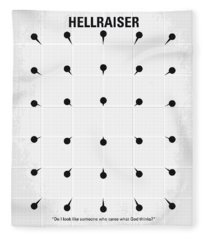 No033 My Hellraiser Minimal Movie Poster.jpg Fleece Blanket