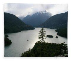 North Cascades Fleece Blanket