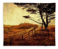 Norwegian Pine Fleece Blanket