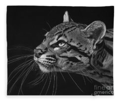 Ocelot Fleece Blanket