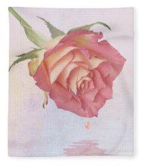 One Drop Of Love Fleece Blanket