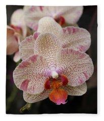Orchid Perspective Fleece Blanket