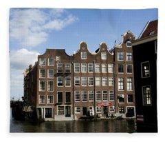 Oudezijds Voorburgwal Fleece Blanket