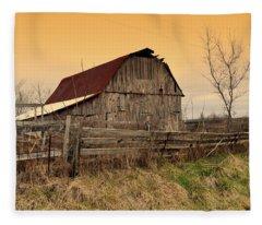 Ozark Barn 1 Fleece Blanket