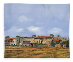 Paesaggio Aperto Fleece Blanket