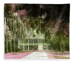Parlange Plantation Circa 1750 New Roads La Fleece Blanket
