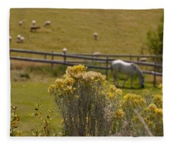 Pastures Fleece Blanket