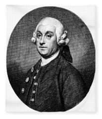Percivall Pott, English Surgeon Fleece Blanket
