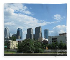 Philadelphia 02 Fleece Blanket