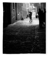 Post Alley Fleece Blanket