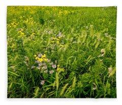 Prairie Tapestry Fleece Blanket