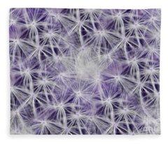 Purple Wishes Fleece Blanket