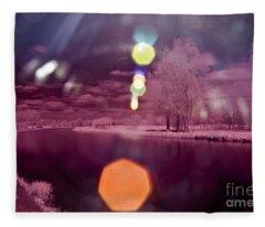 Recurring Light Fleece Blanket
