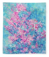 Redbud Special Fleece Blanket