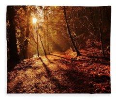 Reelig Sun Fleece Blanket