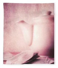 Relaxing Tea Fleece Blanket