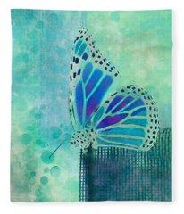 Reve De Papillon - S02b Fleece Blanket