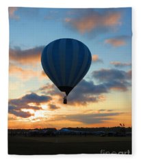 Rising With The Sun. Oshkosh 2012. Fleece Blanket