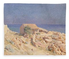 Roussillon Landscape Fleece Blanket