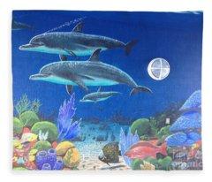 Sailfish Splash Park 2 Fleece Blanket