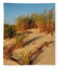 Sand Dune II - Jersey Shore Fleece Blanket