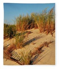 Sand Dune II - Jersey Shore Fleece Blanket