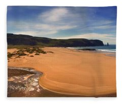 Sandwood Bay Fleece Blanket