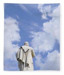 Schiller Monument In Berlin Fleece Blanket