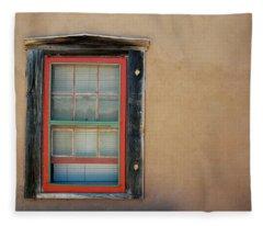 School House Window Fleece Blanket