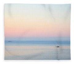 Sea Fog Fleece Blanket