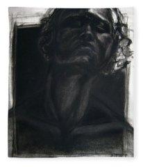 Self Portrait 2008 Fleece Blanket