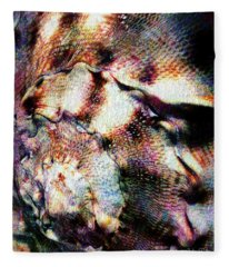 Shell Game Fleece Blanket