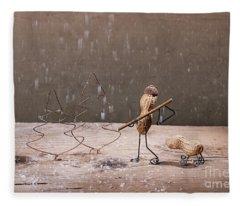 Simple Things - Christmas 04 Fleece Blanket