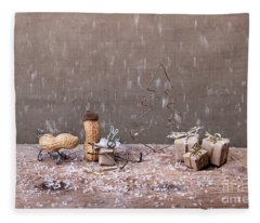 Simple Things - Christmas 07 Fleece Blanket
