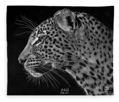 Spotted Solitude Fleece Blanket