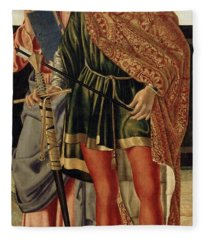 St Matthew And St Sebastian Fleece Blanket
