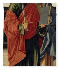 St. Paul And St. James The Elder Fleece Blanket