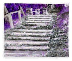 Stairway To Heaven Fleece Blanket