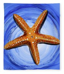 Star Of Mary Fleece Blanket