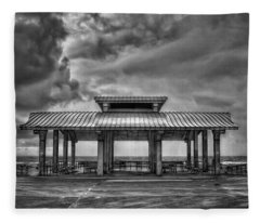 Storm Before The Calm Fleece Blanket