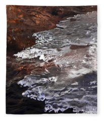 Stream Edge Ice Fleece Blanket