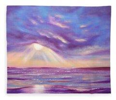 Sunset Spectacular Fleece Blanket