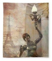 Parisian Fleece Blankets