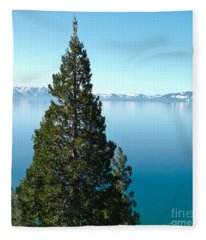 Tahoe Tranquility Fleece Blanket