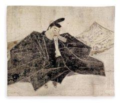 Taira No Kanemori (?-991) Fleece Blanket